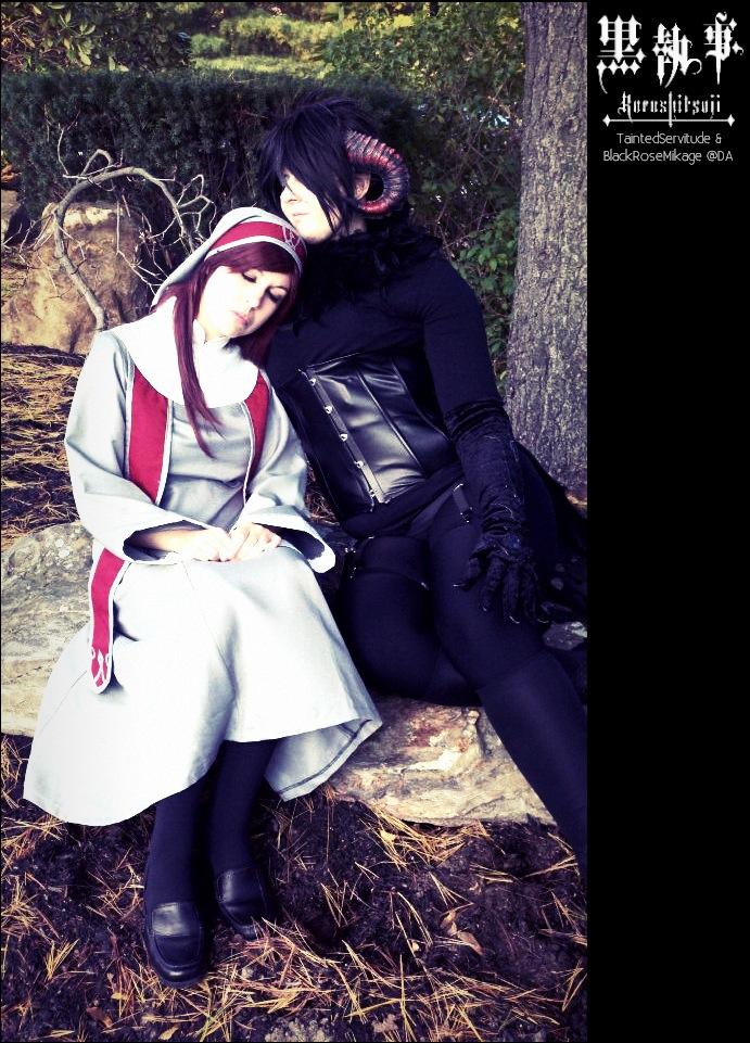 Kuroshitsuji: Nun and Demon by BlackRoseMikage