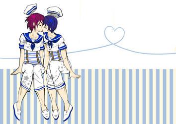 Free! Love Deep As The Ocean- Rin x Haru by BlackRoseMikage