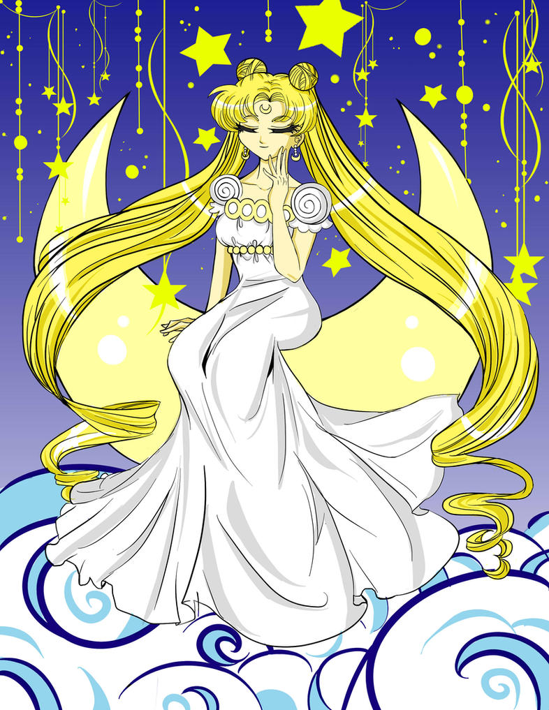 Princess Serenity- Moonlight Majesty by BlackRoseMikage
