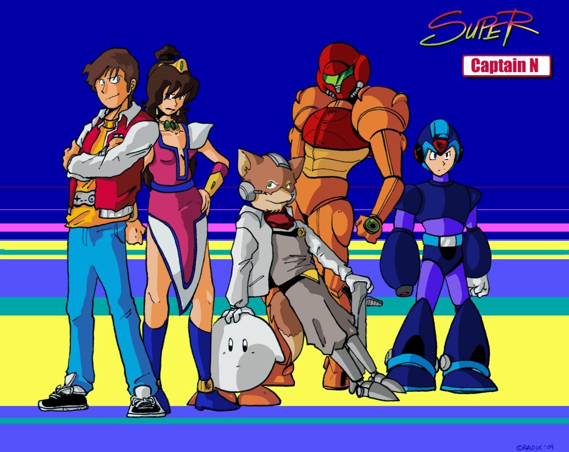 Captain N Cartoon Characters : Captain n the game master ahhsuhauh suhaushushuasu desse