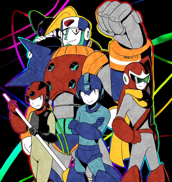 5 HEROES by General-RADIX