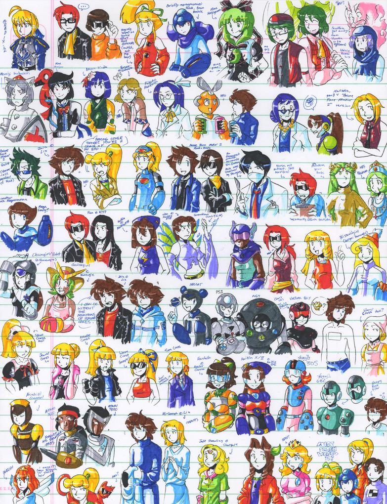 Felt pen doodles 26 by General-RADIX