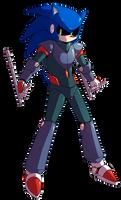 Weaponized Mecha Sonic