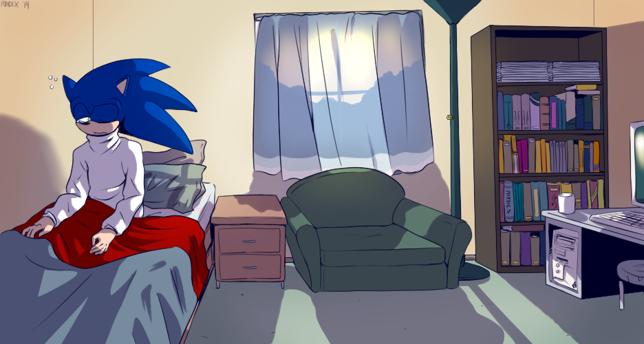 Sonic s Room by General RADIX. Sonic s Room by General RADIX on DeviantArt