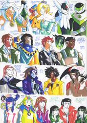 Felt pen doodles 158 by General-RADIX