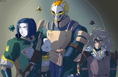 Deus Trio by General-RADIX