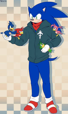 I'll be over here with my birds