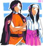 Momiji and Sakura