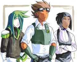 Steampunk Trio by General-RADIX