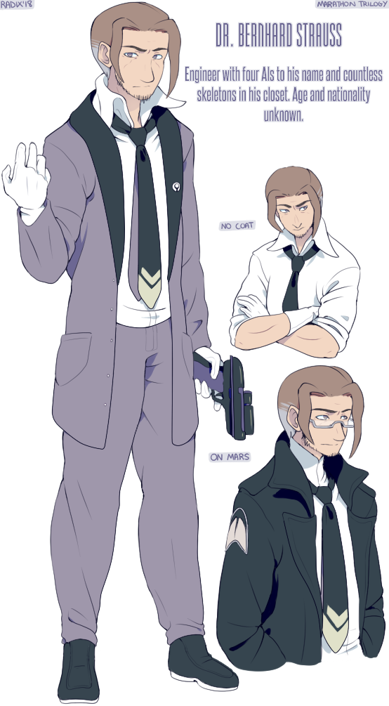 Dr Bernhard Strauss ref by General-RADIX