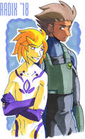 Morpheus and Vince by General-RADIX