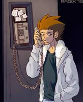 Landline Phone on a Ship by General-RADIX