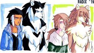 Werewolf Dudes