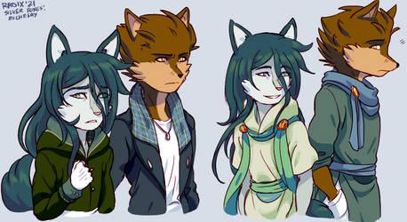 silver foxes DV