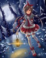 Little Girl Under the Snow by Werenwow