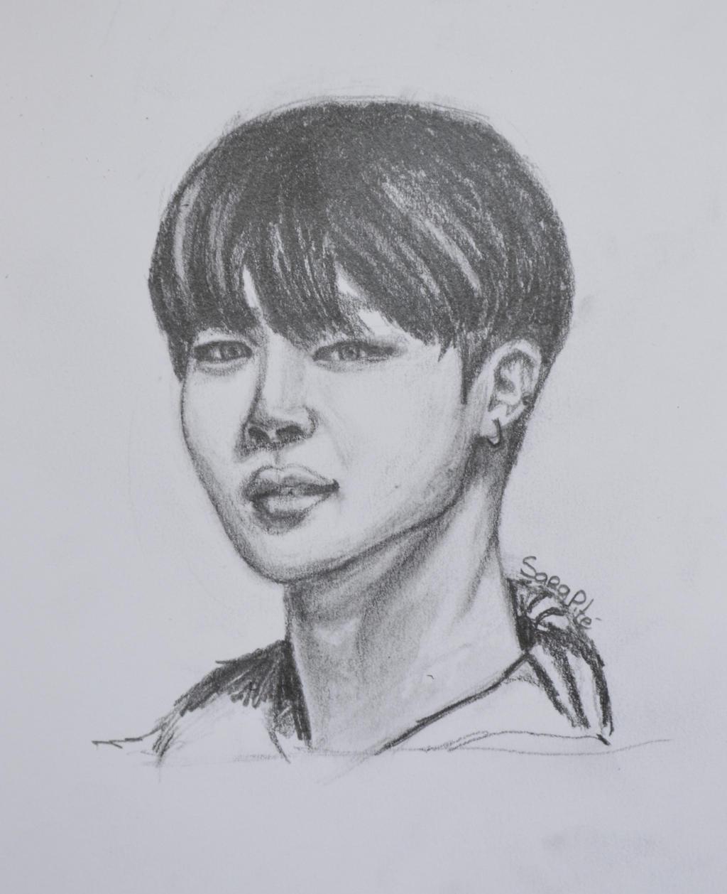 BTS - Park Jimin Drawing By Sarapite On DeviantArt