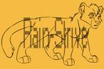 P2U:Feline Lineart