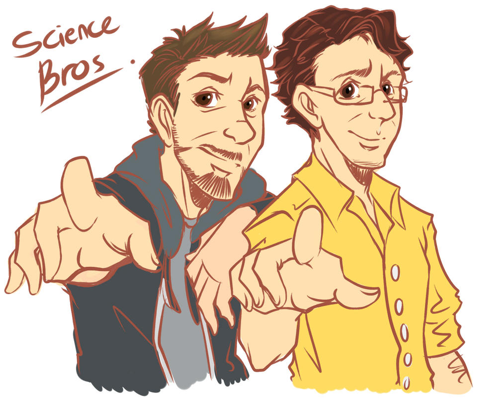 Science Bros by Rain-Strive