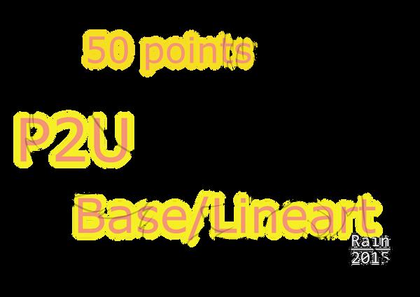 P2U:Fluffy Cat Line/Base[PRICE LOWERED!]