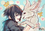 Noct and Carbuncle