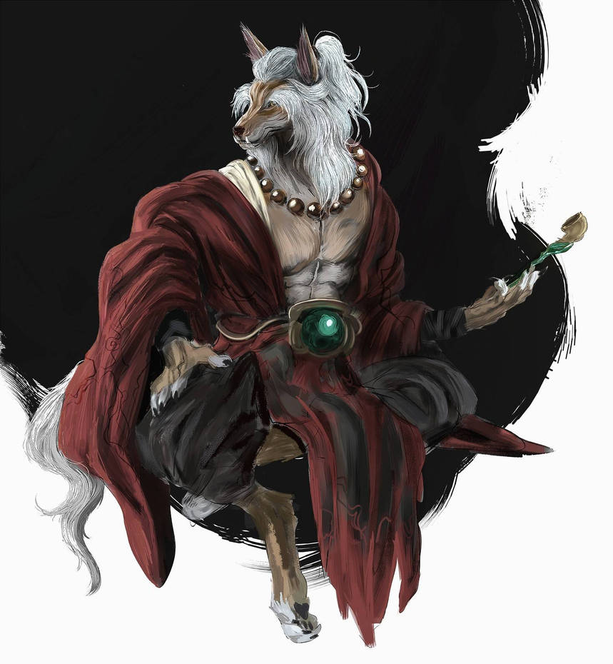 Old Fox Monk