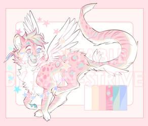 Pastel Winged Cub Design AUCTION: [CLOSED]