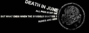 Death In June - Facebook Timeline Border