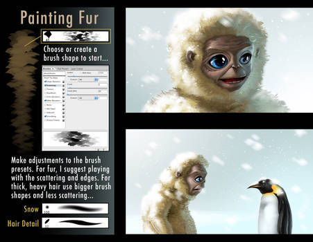 tips for painting fur