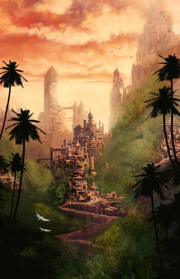 Jungle Villages by DigitalCutti
