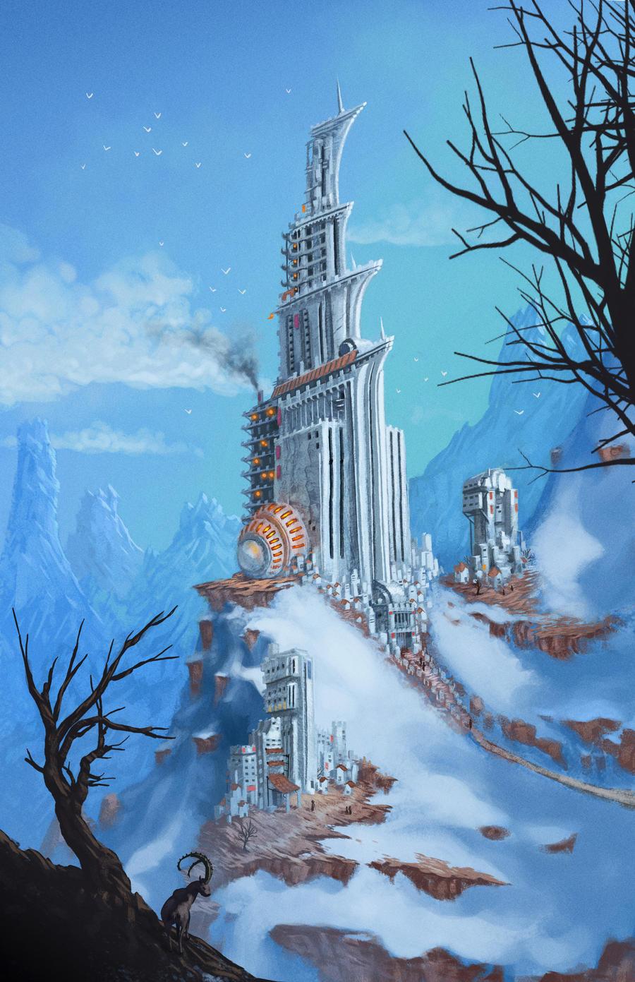 Winter Fortress by DigitalCutti