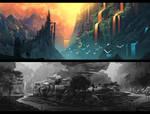 Speed Paint Landscapes