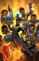 The Eight Issue #1 Cover
