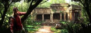 Temple Entrance by DigitalCutti