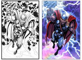 Thor pinup