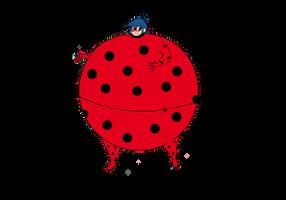 Roly Poly Ladybug by Crossovercomicmark2