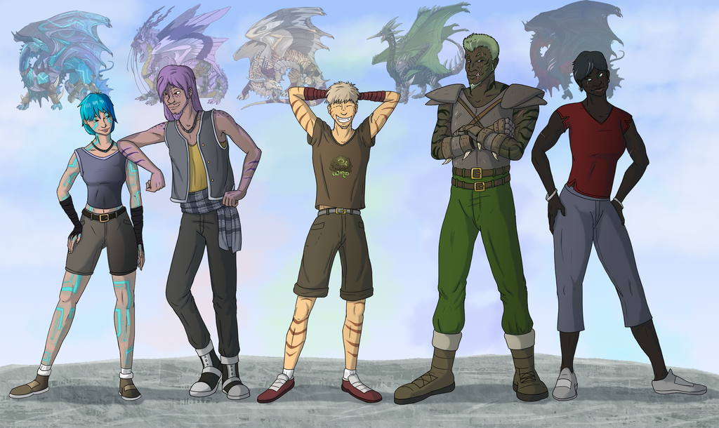 Prince Of The Wasteland Cast: Human Edition! by brightcat13527