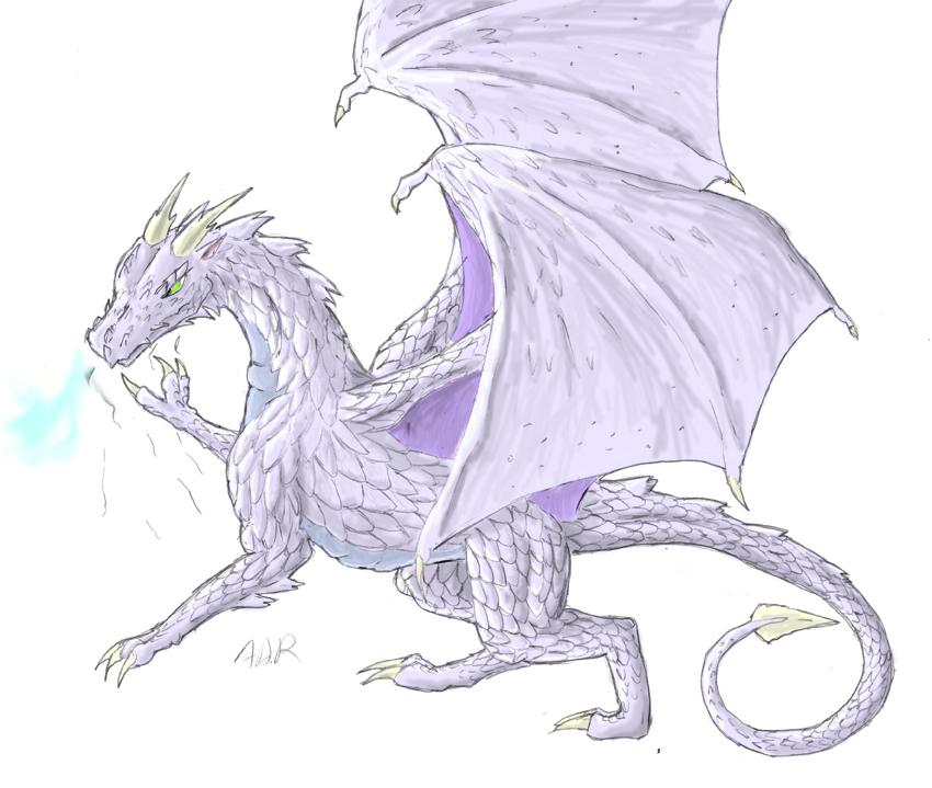 Frost Dragon: Frost Dragon By Brightcat13527 On DeviantArt