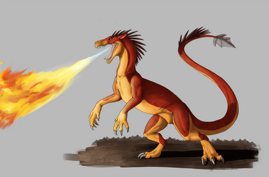 The Fire Drake
