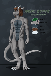 Issac Ryder Ref [Commission]