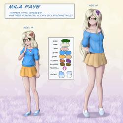 Mila Faye Ref Sheet [Commission]
