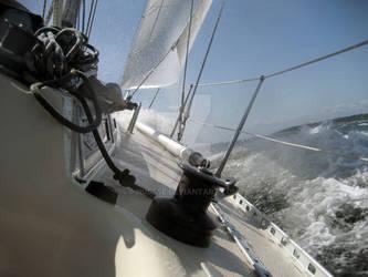 water and sailing