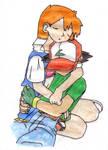 Satoshi and Kasumi