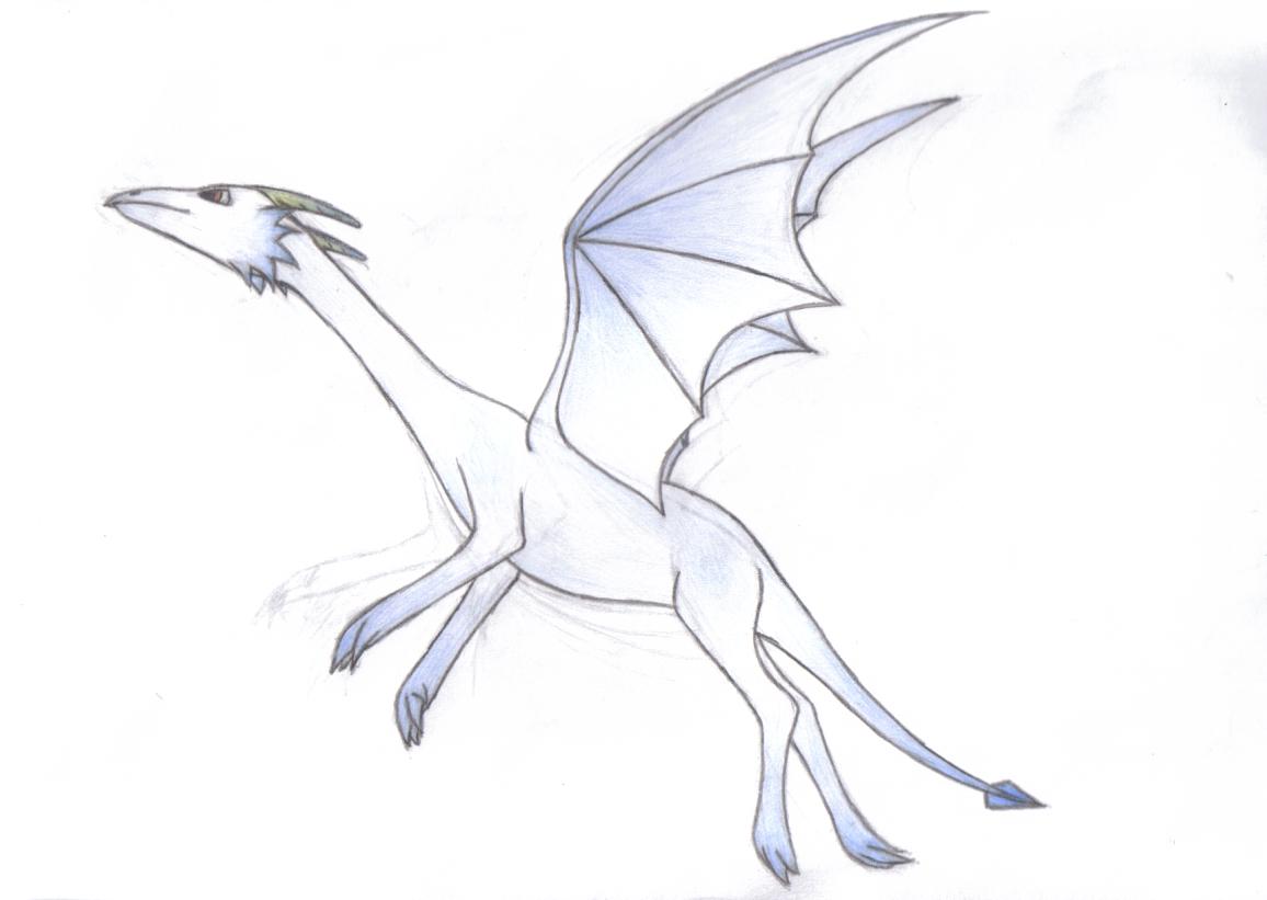 Flying dragon - Scanned ver.