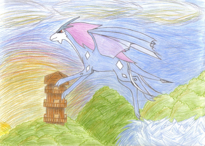 Dragon-Suicune - Coloration