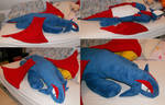 Giant lying Salamence Plush