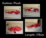 Guilmon Plush