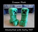 Creeper plush