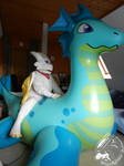 Photoshooting! Chibisuke and Sea Dragon
