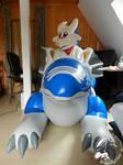 Photoshooting! Chibisuke and Blue Dragon