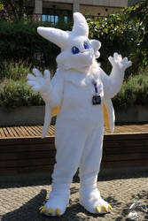 New Chibisuke Fursuit by Starfighter-Suicune